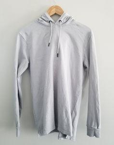 Jack & Jones Core light grey hoodie logo